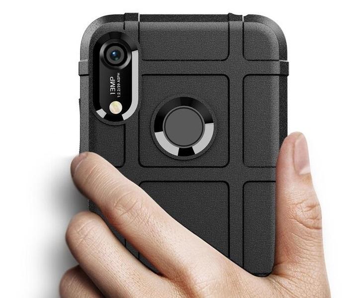 Чехол Huawei Y6 2019 (Honor 8A Pro) цвет Black (черный), серия Armor, Caseport