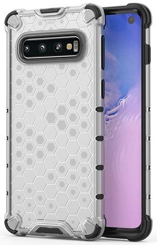 Чехол на Samsung Galaxy S10 прозрачный корпус от Caseport, серия Honey