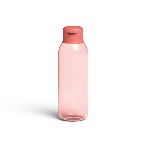 Бутылка для воды 0,75л Leo (цвета коралл)