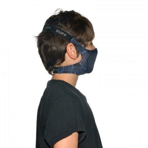 Маска защитная детская Buff Mask KasaiI Night Blue фото 2