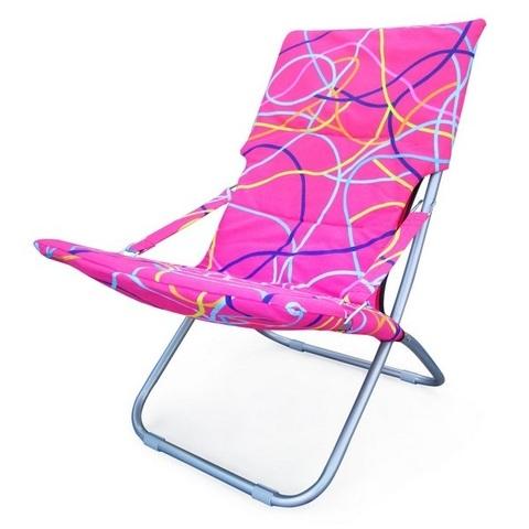 Кресло складное Белла-3 CHO-134-1C Pink