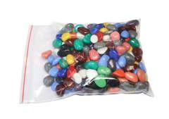 Цветные камни для аквариума, декора и творчества