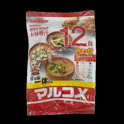 Основа для супа Мисо быстрого приготовления ассорти MARUKOME, 241.1 гр