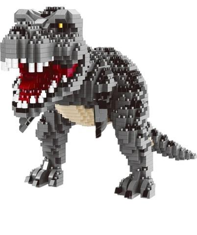 Конструктор 3D 16088 Тираннозавр T-Rex, черный, 1530 дет.