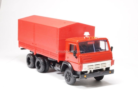 KAMAZ-5320 with awning red Elecon 1:43