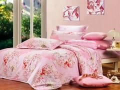 Сатиновое постельное бельё  2 спальное  В-94-1