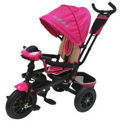 Велосипед Lexus trike 12x10 Надувные, светомуз. панель, Розовый (T400M2-N1210P-Pink)