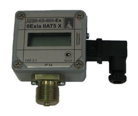 ДДМ-03-МИ, ДДМ-03-МИ-Ех, датчики избыточного, вакуумметрического абсолютного и дифференциального давления с электрическим выходным сигналом