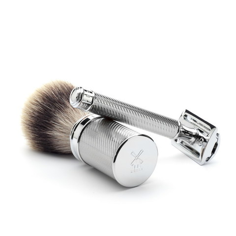 Т-образная бритва MUEHLE TRADITIONAL R 89, хром, closed comb
