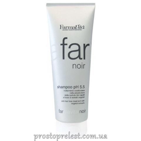 Farmavita Noir Line Shampoo - Шампунь чоловічий проти випадіння волосся