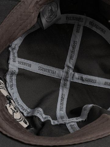 Кепка Муромская тёмно-серая «Идеальный шторм»