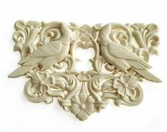 Д0863 Пластиковый декор. Орнамент с птицами