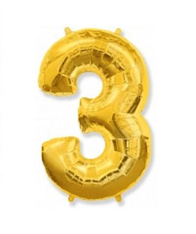 Цифра три - золото