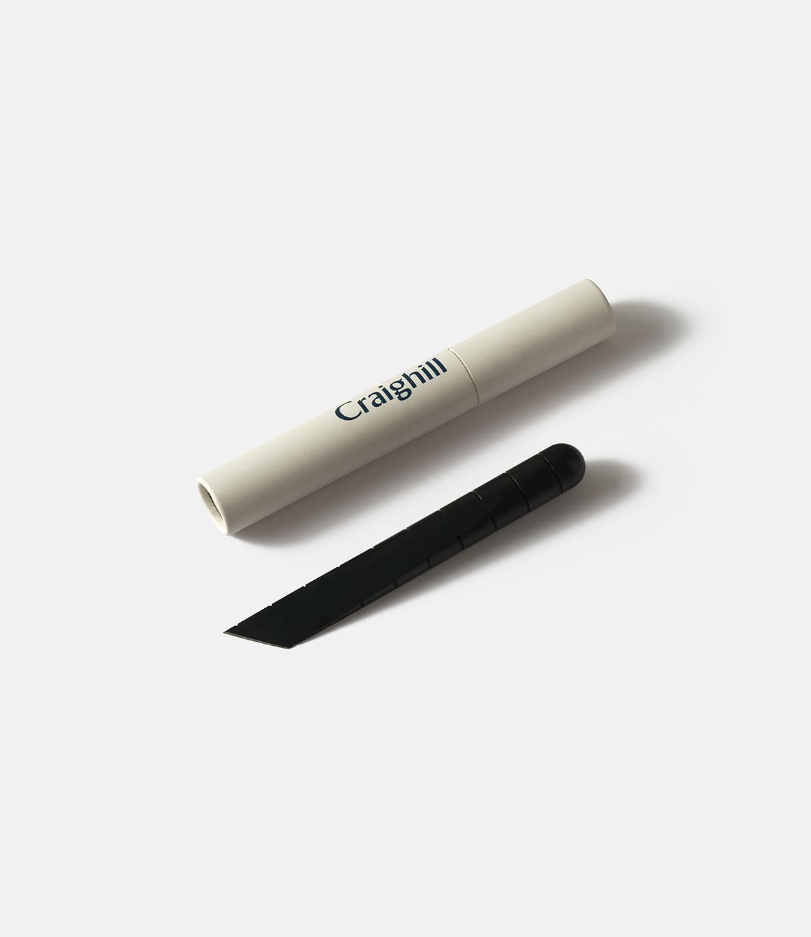 Craighill Desk Knife Carbon Black — настольный нож из стали: чёрный