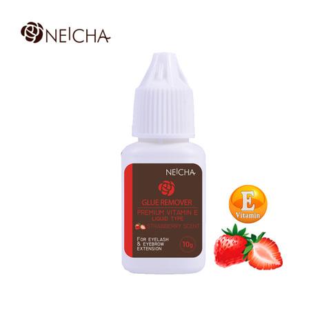 Ремувер Neicha жидкий с витамином Е клубника 10мл