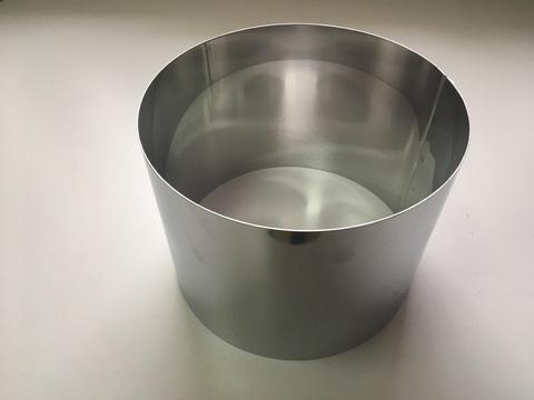 Кольцо-резак для торта H15 D20, нерж. сталь