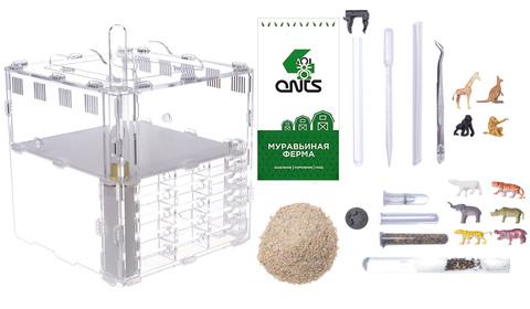 муравьиная ферма Crystal L pro