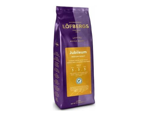 купить кофе в зернах Lofbergs Jubileum, 400 г