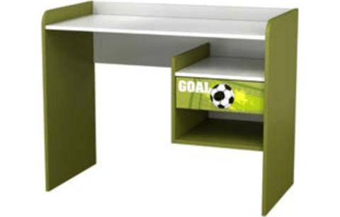 Стол письменный Polini kids Fun 1000 Футбол, зеленый