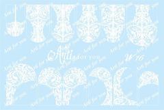 Слайдер наклейки Arti for you цвет белый №W16