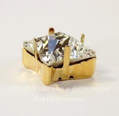 4485/S Сеттинг - основа Сваровски для страза Twister 17 мм (цвет - золото)