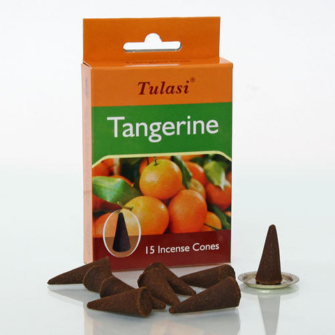 Благовония Sarathi Cones Tangerine Мандарин