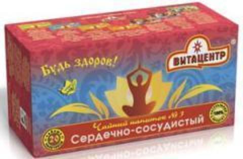 Чайн нап Витацентр №3 Сердечно-сосудистый 20 ф/п х 1,5г