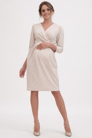 Платье для беременных 11285 пудра