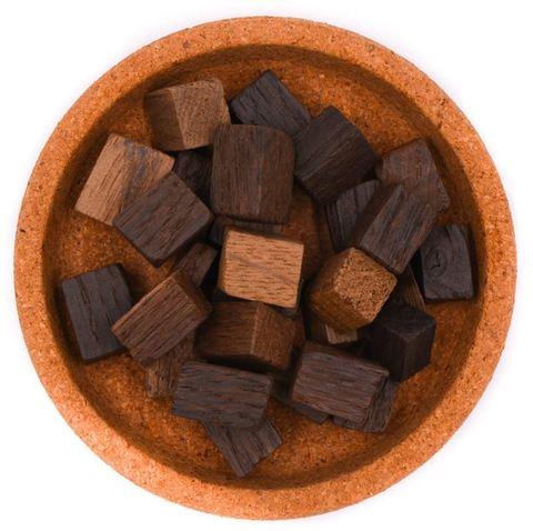 Кубики дубовые сильный обжиг Темный Шоколад на 10-40 л