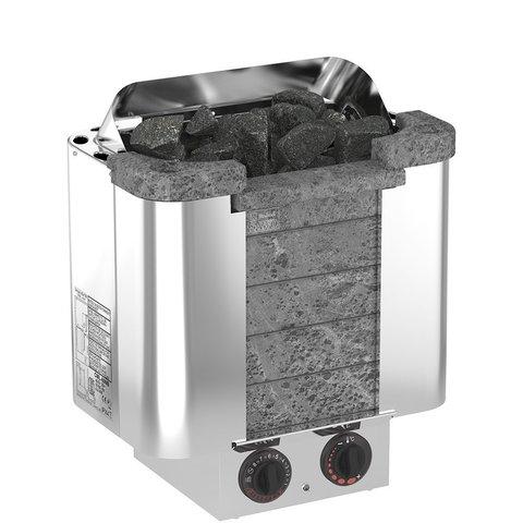 Электрическая печь SAWO CUMULUS CML-45NB-P (4,5 кВт, встроенный пульт, облицовка – талькохлорит)