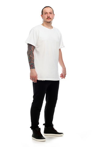 Футболка LeRen Long Basic White
