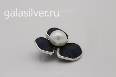 Подвеска с жемчугом из серебра 925