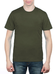 3366-5 футболка мужская, зеленая