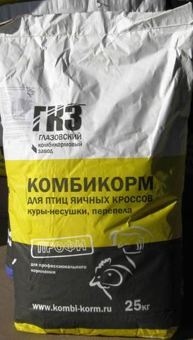Комбикорм ДК-52 для перепелов, Глазовский комбикормовый завод