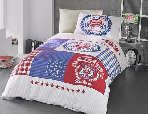 Комплект постельного белья DO&CO RANFORCE 1,5 спальный BORIS