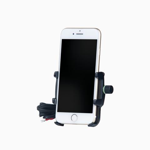 Держатель для смартфона с USB-зарядкой Model6-S