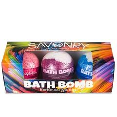 Подарочный набор BATH BOMB | Savonry