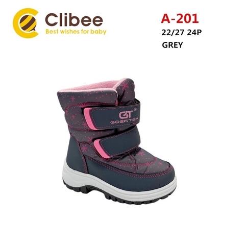 Clibee (зима) A201 Grey 22-27