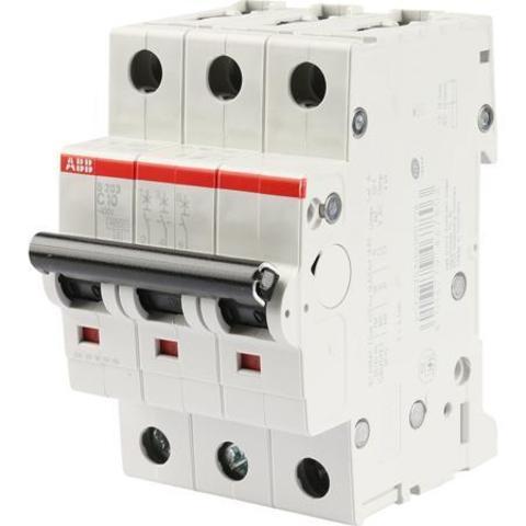 Автомат.выкл-ль 3-полюсной S203 C6