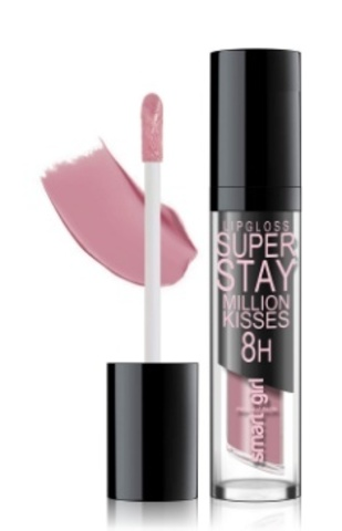 BelorDesign Smart Girl Супер стойкий блеск для губ Million kisses тон 211 тауповый розовый