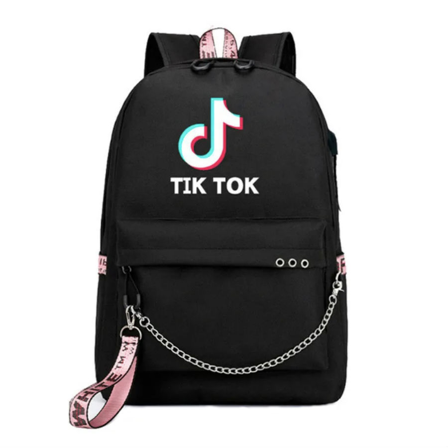 Сумки и рюкзаки Рюкзак с принтом Тик Ток ryukzak-tik-tok.jpg
