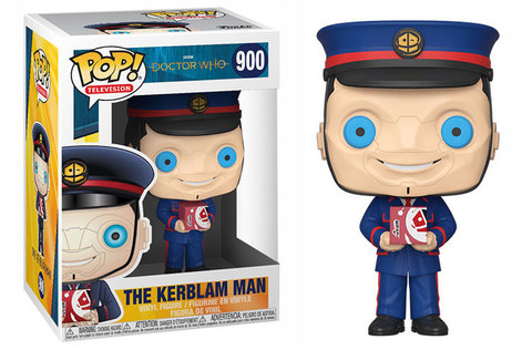 The Kerblam Man (Doctor Who) Funko Pop! Vinyl Figure || Человек Керблам