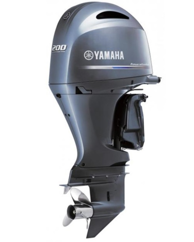 Лодочный мотор Yamaha F200 FETX