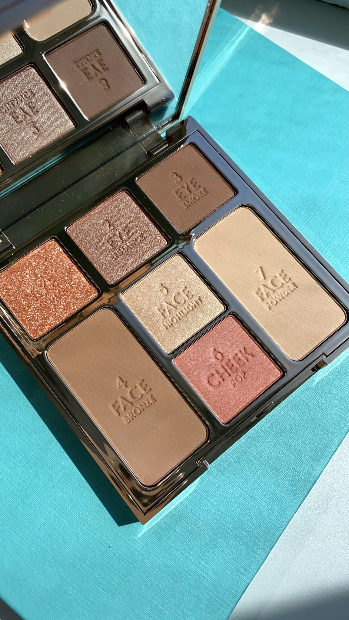 Charlotte Tilbury Look Of Love Instant Look in a Palette - Pretty Blushed Beauty