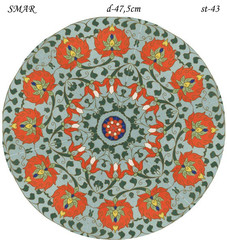 Эскиз для росписи, Круг диаметр-47,5см, SMAR-st-43