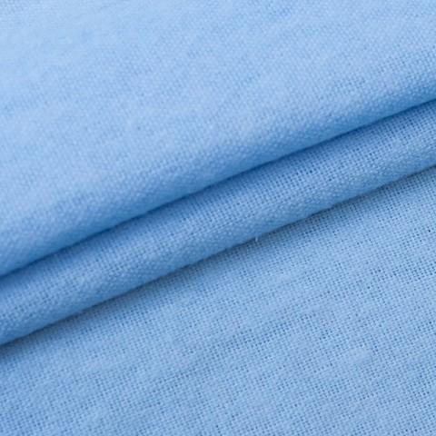 Фланель 150 см цвет голубой