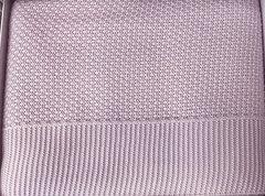 Покрывало вязаное 1,5-спальное Tivolyo home SERA 180х240 см розовое