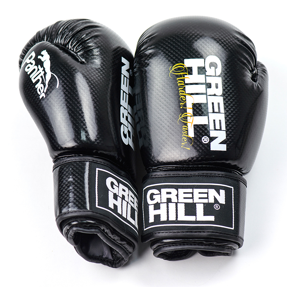 Перчатки Перчатки для кикбоксинга  Panther BGP-2098, Green Hill 24920181227-18474-ge073m.jpg