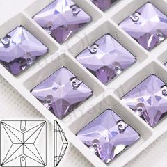 Купить стразы для платья для танцев квадратные Light Violet, Square