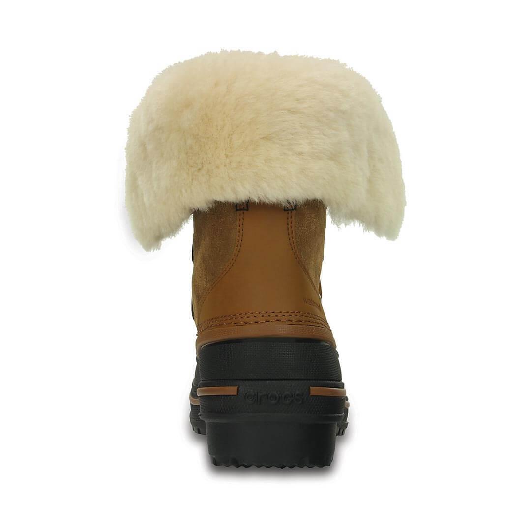 Женские ботинки Crocs AllCast II Luxe Shearling Boot